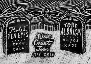 Todd Albright w/ Hotel Ten Eyes